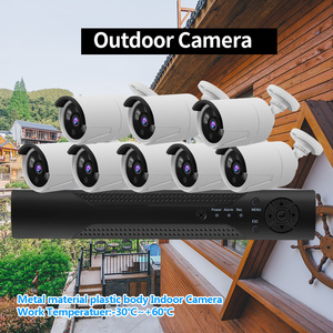 Image 5 - CCTV System 4CH 2MP POE NVR 1080P POE IP Camera  IR Night Vision Motion Detection Security Surveillance System