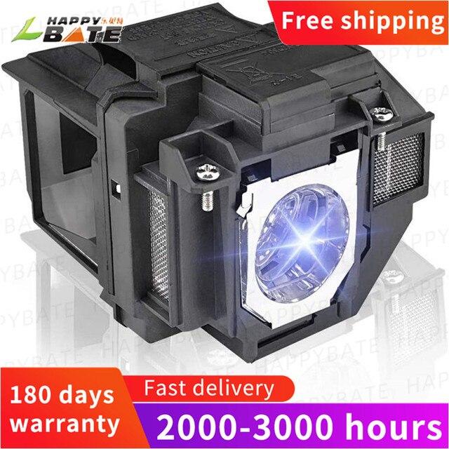 Yedek projektör lambası EX9210 EX9220 EX3260 EX5260 EX7260 PowerLite 1266 1286 ELPLP96/V13H010L96 konut ile
