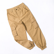 High waist pants camouflage loose joggers women army harem camo pants