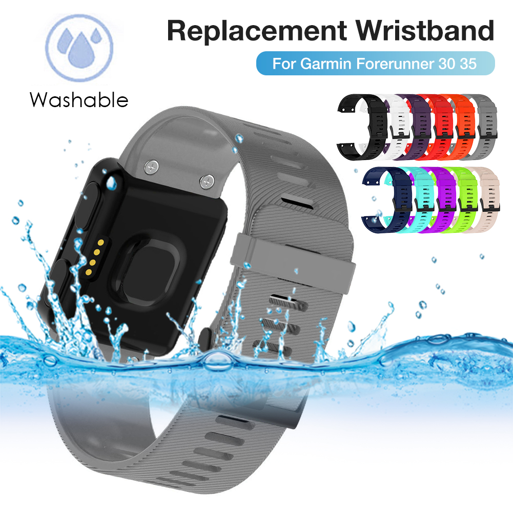 Outdoor Wristband For Garmin Forerunner 10/15/35/ 30  Smart Watch Smart Accessories Soft Silicone Strap Replacement Watch Band