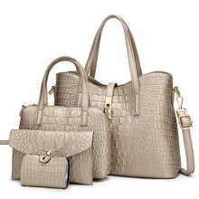 Ladies Handbags Crocodile Pattern Women's Bag New 2021 Single Shoulder Bag