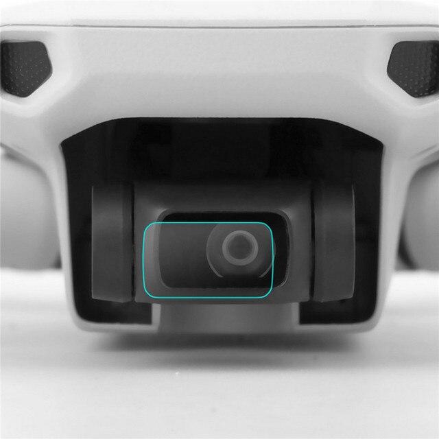 2 ensemble HD Ultra mince lentille de caméra Film de verre trempé pour DJI Mavic Mini Drone caméra lentille Film de protection protecteur décran