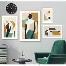 4 вида листовок могут быть собраны и проданы креативные абстрактные