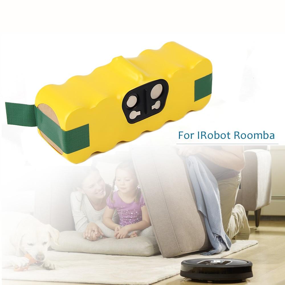 Eleoption alta capacidade 4500 mah 14.4 v bateria para irobot roomba aspirador de pó 500 530 540 550 620 600 650 700 780 790 870 & 4.0ah