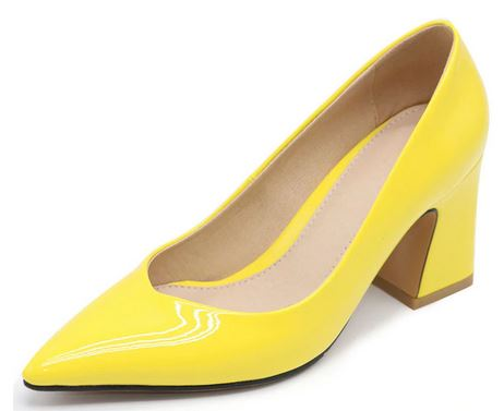 YEELOCA 2020  Women Pointed Toe Pumps Solid Color High Heels Shoes Women Concise Office Lady Daily Party Footwear XS0443