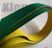 1700x100x3 mm Nylon Chip Base Band Textile Flat Belt Conveyor Transmission Timing Belt