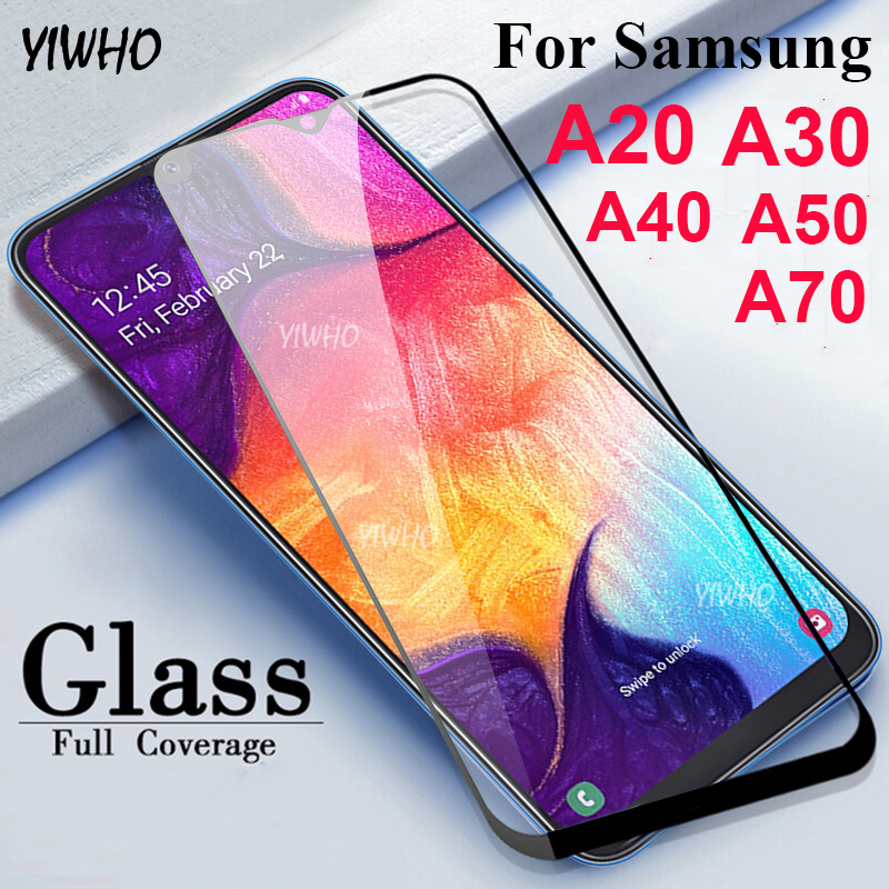 <font><b>Glass</b></font> On A50 For <font><b>Samsung</b></font> Galaxy A30 2019 A40 A70 SamsungA <font><b>A</b></font> 50 40 30 <font><b>70</b></font> A505 A505F SamsungA50 Screen Protective Tempered <font><b>Glass</b></font> image