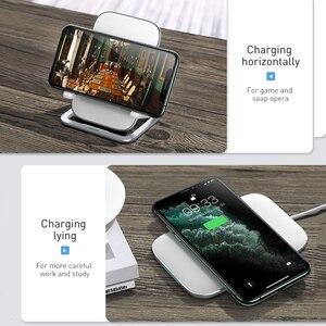 Image 2 - Baseus cargador inalámbrico rápido para iPhone 11xs X Max, Samsung S10, S9, 15W