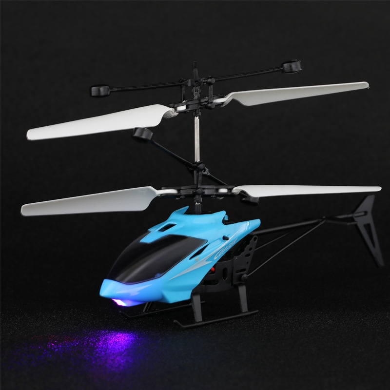 Mini Drone Flying Helicopter Kids Toys LED Flashing Light Baby Toys For Children Infraed Induction Aircraft Helicopters Gift RC Helicopters     - title=