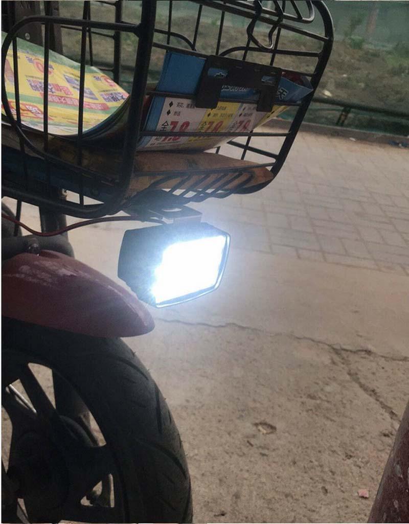Высококачественный светодиодный электроавтомобильный фонарь 15 Вт, электронный велосипед, Pedelec, моторизованный велосипед, электрический велосипед, мотоцикл, светодиодный мотоцикл, DC9V 12V 18V 24V 36V 48V 60V 72V 80V светодиодный электромобиль лампа 10 шт./партия