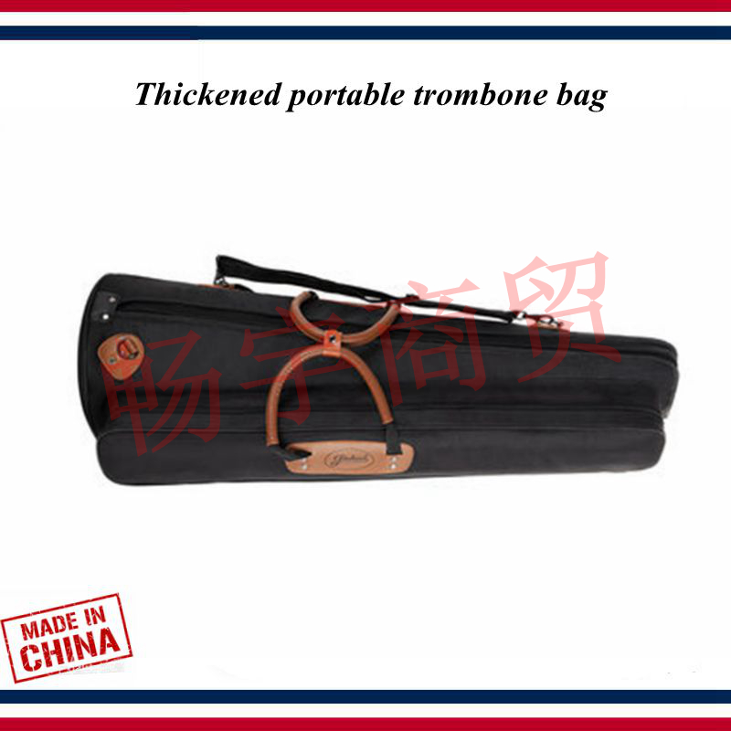 New Fashion Trombone Case Thickened Portable Trombone Bag Tenor Bass Alto Backpack Trombone Accessories Parts