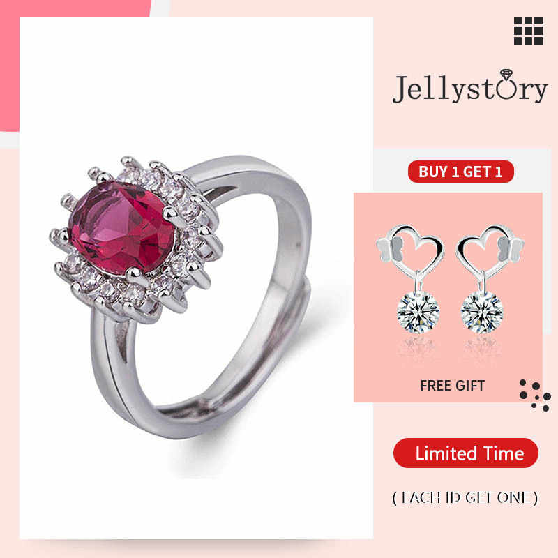 sterling silver ring,gemstone ring Ruby stone ring gift for wife anniversary ring gift for her adjustable silver ring