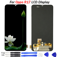 все цены на 6.4 inch For Oppo R17 LCD DIsplay Touch Screen Digitizer Assembly Replacement 10% test lcd for oppo R17 display screen repair онлайн