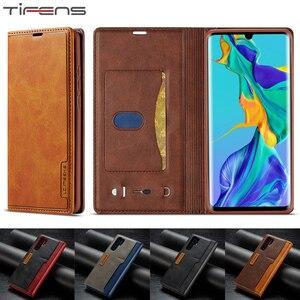 Винтажный чехол-кошелек Hawei P30pro P20lite, роскошный кожаный чехол для huawei P20 P30 Mate20 Pro Lite, Магнитный флип-чехол для телефона Etui