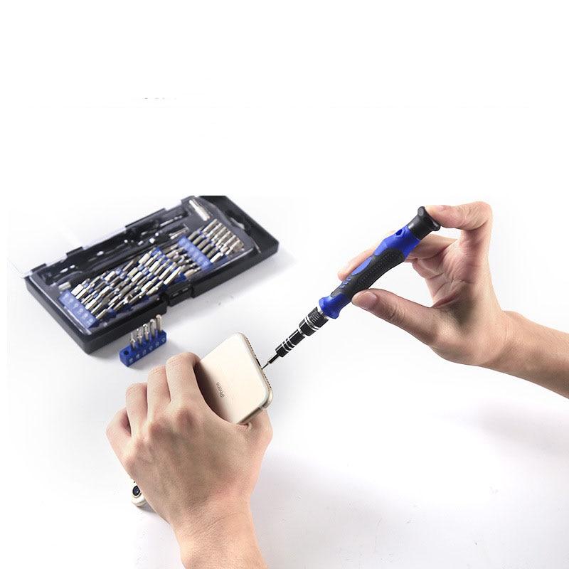 60-in-1 multi-function screwdriver set Apple mobile computer repair disassembly tool  socket
