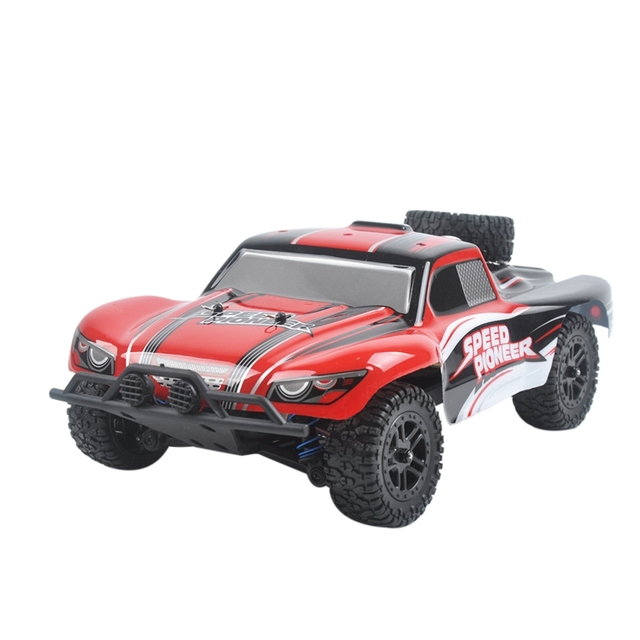 9301X RC Car 1/18 4WD 2.4G 50KM/H High Speed RC Car Remote Control Truck Toys Brushless Desert Crawler Car Vehicle Red 6