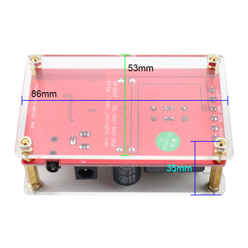 TPA3116D2 Bluetooth digital power verstärker bord kristall modelle Bluetooth 5,0 high-speed-übertragung high power