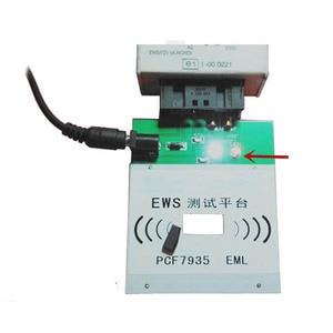 Image 5 - Ews3 ews4 plataforma de teste recarregável para bmw & para land rover pcf7935 chip ou eml eletrônico chip chave programa completo ou não