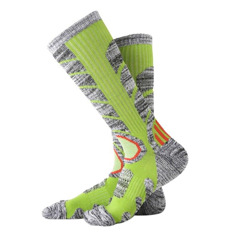 Спортивные носки, зимние уличные спортивные носки для сноубординга, походов, велоспорта, альпинизма, Походов, Кемпинга, сноуборда, теплые то...