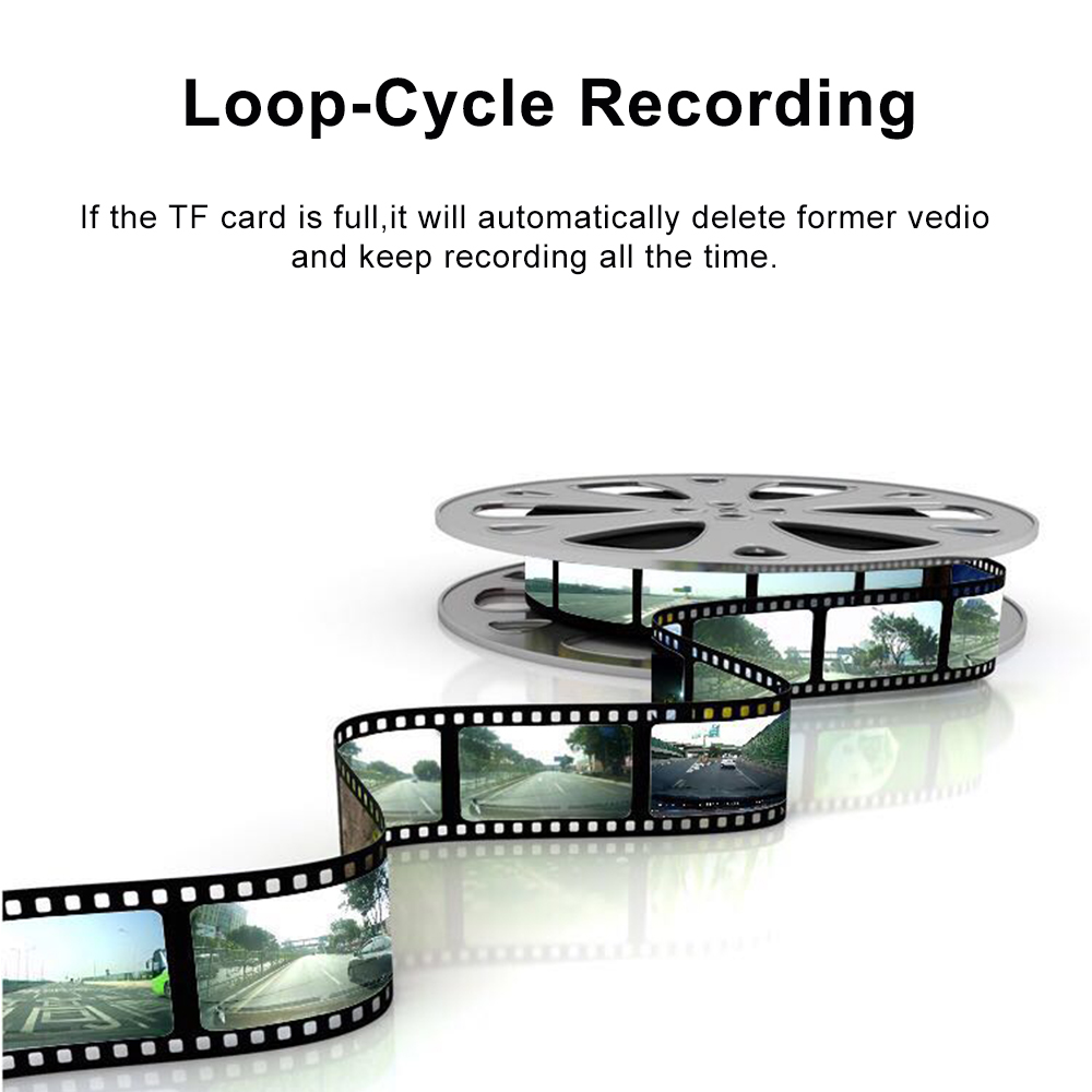 1080P HD навигация скрытый рекордер U2 USB автомобильная камера DVR 170 ° ADAS Dash Cam монитор Поддержка TF карта g-сенсор мини Автомобильные видеорегистра...