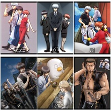 Gintama Classic Movie Home Decorative Painting White Kraft Paper Poster 42X30cm talk to her movie home decorative painting white kraft paper poster 42x30cm