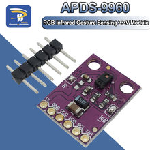Sensor infravermelho do gesto do rgb APDS-9960 GY-9960-3.3 para a relação 3.3v detectoin da proximidade de arduino iic que detecta o filtro uv da cor