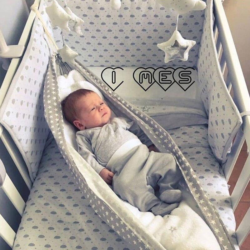 Portable Infant Baby Bed Hammock Newborn Kid Sleeping Bed Safe Detachable Baby Cot Crib Swing Chair Outdoor Adjustable Net