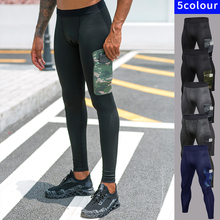 Men Leggings Compression-Pants Running-Tights Fitness Sport Fanceey Gym with Pocket Quick-Dry