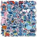 Disney Stich Aufkleber 50Pcs Lilo Stich Nette Cartoon Aufkleber Scrapbooking Aufkleber Für Gepäck Laptop Notebook Auto Spielzeug Telefon