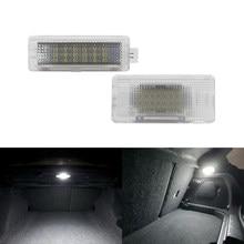 Luz de led para bagagem de carro, para bmw mini cooper one s f56 f55 f54 r56 r55 r60 r61 lâmpada de cortesia de pé
