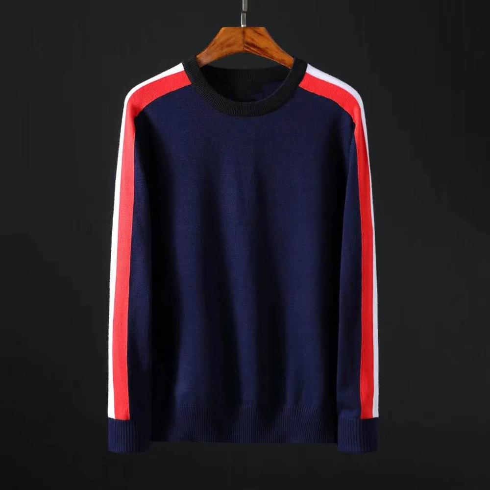 Men Crocodile O-neck Cotton Sweater Autumn Winter Jersey Jumper Hombre Pull Homme Hiver Pullover Men Knitted Sweaters Full