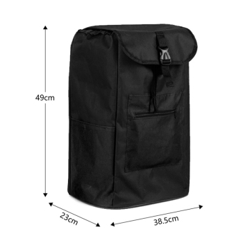 Torby na zakupy na wózek na zakupy torby na zakupy torby kobieta kosz na zakupy torby na zakupy na artykuły spożywcze torby na kółkach torebka na rynek tanie i dobre opinie CN (pochodzenie) Oxford Na co dzień