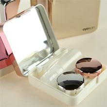 imixlot High-end Contact Lens Case With Mirror Portable Plas