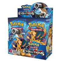 324pcs Pokemon cards Sun & Moon XY Evolutions Booster Box Collectible Trading Cards Game