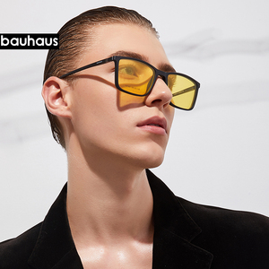Image 3 - Magnet Flat Polarized Sunglasses Men big frame glasses  ultem Clip Sunglasses Glasses Men Clips X3180