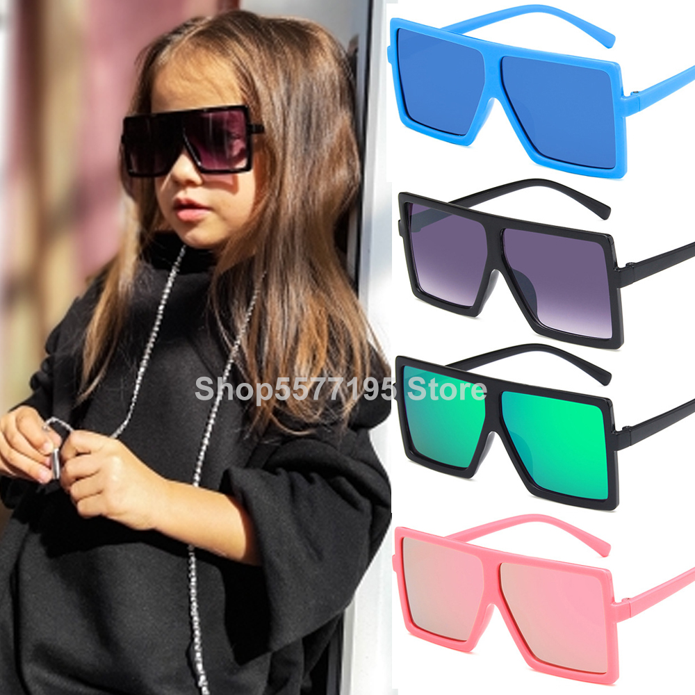 2020 Brand Sunglasses Kids UV400 Coating Sun Glasses Camouflage Frame Goggle Baby Boys Girls Lovely Sunglass Oculos Masculino