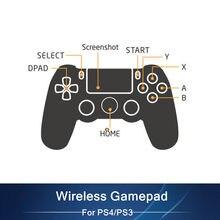 Mando inalámbrico Bluetooth para PS4, Mando para PS4, compatible con consola Ps 4, Playstation Dualshock 4