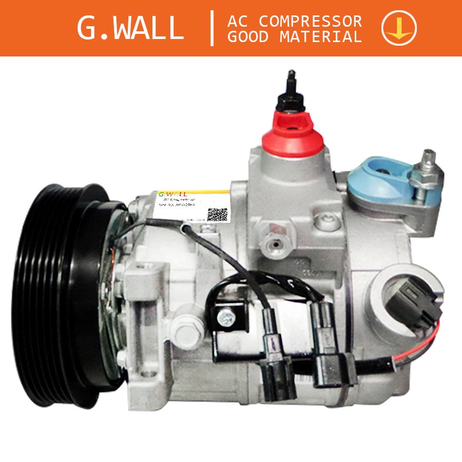 Car Air Compressor For Volvo S80 II 2.4D 2.5T 31250519 <font><b>30780443</b></font> 36000231 36002425 Z0005702A 5060410423 For Volvo AC Compressor image