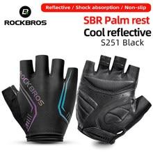 ROCKBROS Cycling gloves Men Women Half Finger Gloves Breathable Sports Gloves MTB Bike Bicycle Gloves