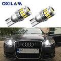 2 шт. W5W T10 светодиодный светильник с can-bus парковки Подсветка салона для Audi A3 A4 A6 A5 8p B6 B8 B7 B5 C6 S3 S4 RS3 TT Quattro Q5 Q7 100 300