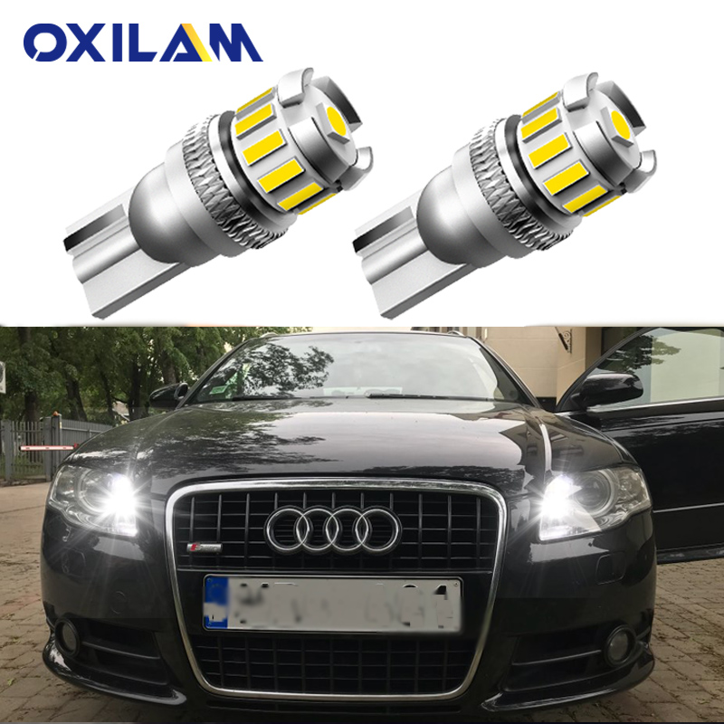 2Pcs W5W T10 LED Lamp Canbus Parking Interior Lights for <font><b>Audi</b></font> A3 <font><b>A4</b></font> A6 A5 8p B6 B8 B7 <font><b>B5</b></font> C6 S3 S4 RS3 TT Quattro Q5 Q7 100 300 image