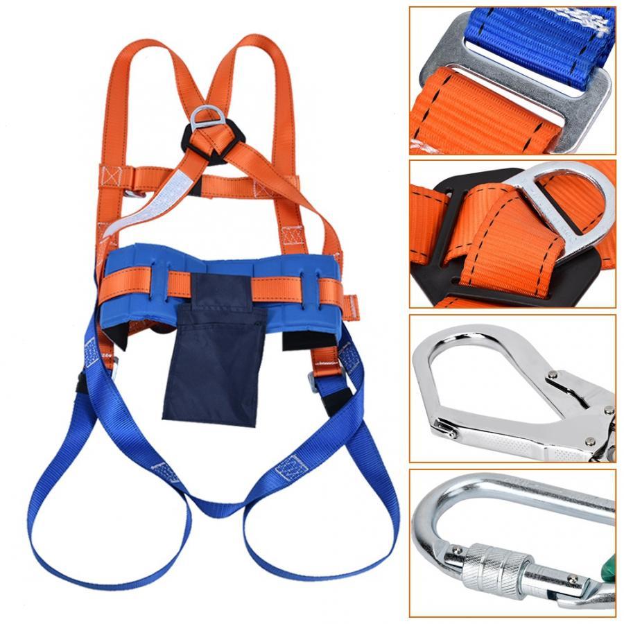 arnes de seguridad trabajo Aerial Work Fall  Full Body Safety Harness Adjustable Belt With Hook safety equipment