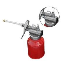 El aceite de 250ml puede morir el cuerpo fundido con la bomba de pulverización rígida del pulgar engrasador del taller