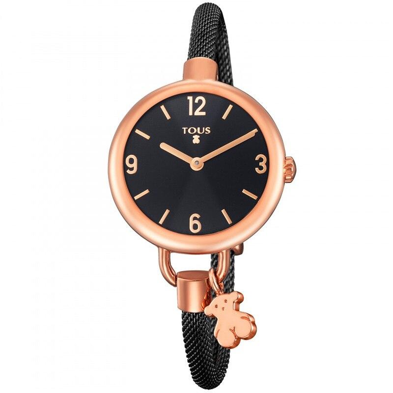 TOUSES pulsera, reloj de cuarzo para mujer, reloj Casual, reloj de pulsera para damas, reloj de cuarzo, moda de cuero, TOUSES deportivos, joyas