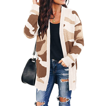 2020 women Sweater Womenss Long Cardigan Autumn Winter Bat sleeve Loose Ladies Sweaters Cardigans Knitted Bodywarmer Jacket D30 long cardigan women sweater autumn winter bat sleeve knitted sweater plus size jacket loose ladies sweaters coat plus size