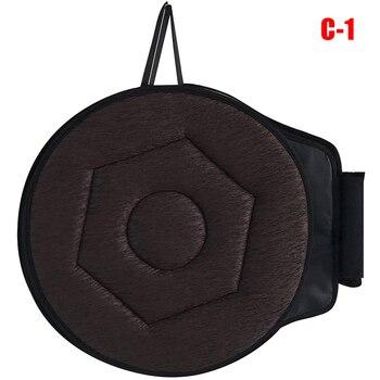 360 grados de rotación giratoria cojín de asiento de coche fácil en fuera almohadilla de asiento suave TB venta