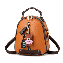 New Women Backpacks Small Bags For Girls High Quality School Bags Gifts For Girls Work Lady's Bags Pu Leather Multi-use Bags