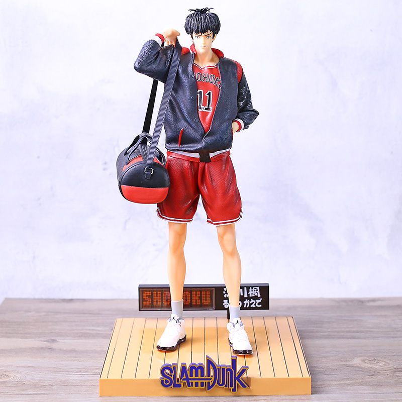 Slam Dunk Shohoku 11 Rukawa Kaede <font><b>1/4</b></font> <font><b>Scale</b></font> <font><b>Figure</b></font> Statue Collectible PVC Model Toy image