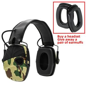 Image 5 - Electronic Ear muff Tactical Headset Anti noise Sound Amplification Shooting Hunting Hearing protection Protective Earmuffs