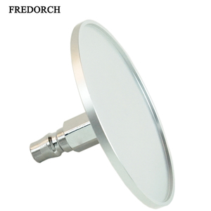 "Fredorch 3.86"" Silver Suction Cup Adapter for Premium Sex Machine with Quick Air Connector, Love Machine Device Attachments(China)"